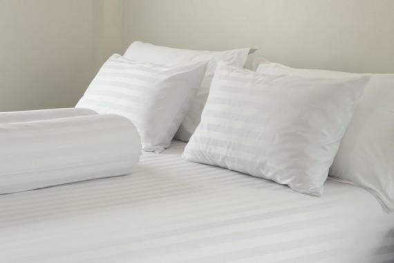 Chất liệu: Vải CVC kẻ sọc 3m 50% cotton 50% PE